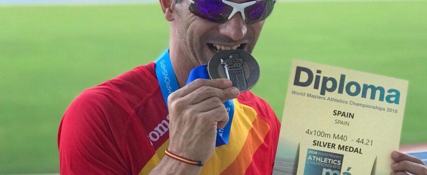 Jonathan Orozco Moreno (Subcampeón mundial equipo relevos 4x100 2018, consiguiendo récord España)